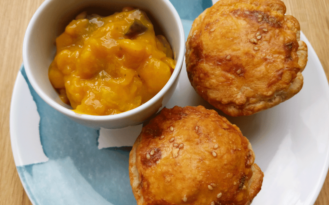 Mini Pork Pies with Piccalilli