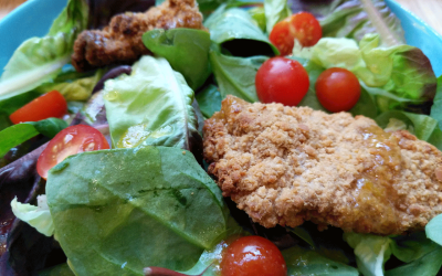 Styrian Breaded Chicken Salad