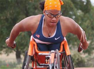 Paralympic athlete Anjali Forber-Pratt