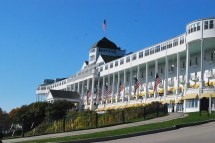 """ In Time"" Mackinac Island' Historic Grand"
