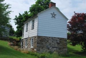 A house along Pennsylvania's underground railroad.
