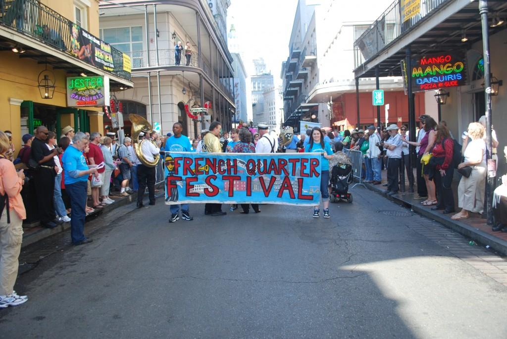 Beginning of FQF parade.