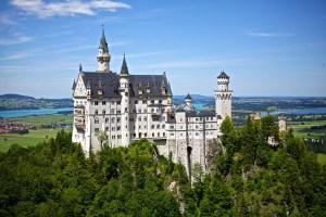 Bavaria castle Neuschwanstein.