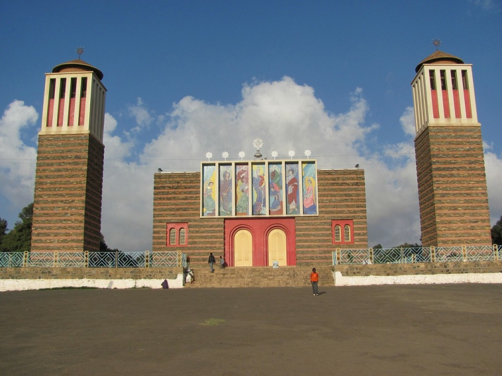 Tower church in Eritrea.