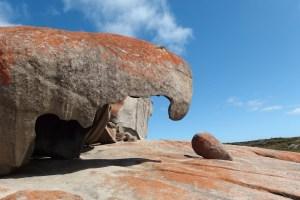 Rock formation on Kangaroo Island
