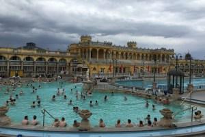 Szechenyi Spa in Budapest, Hungary