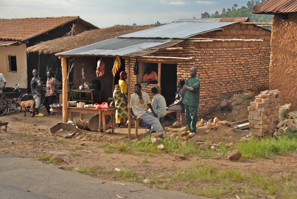 Burundi village