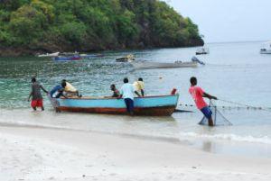 Fishermen on St. Vincent