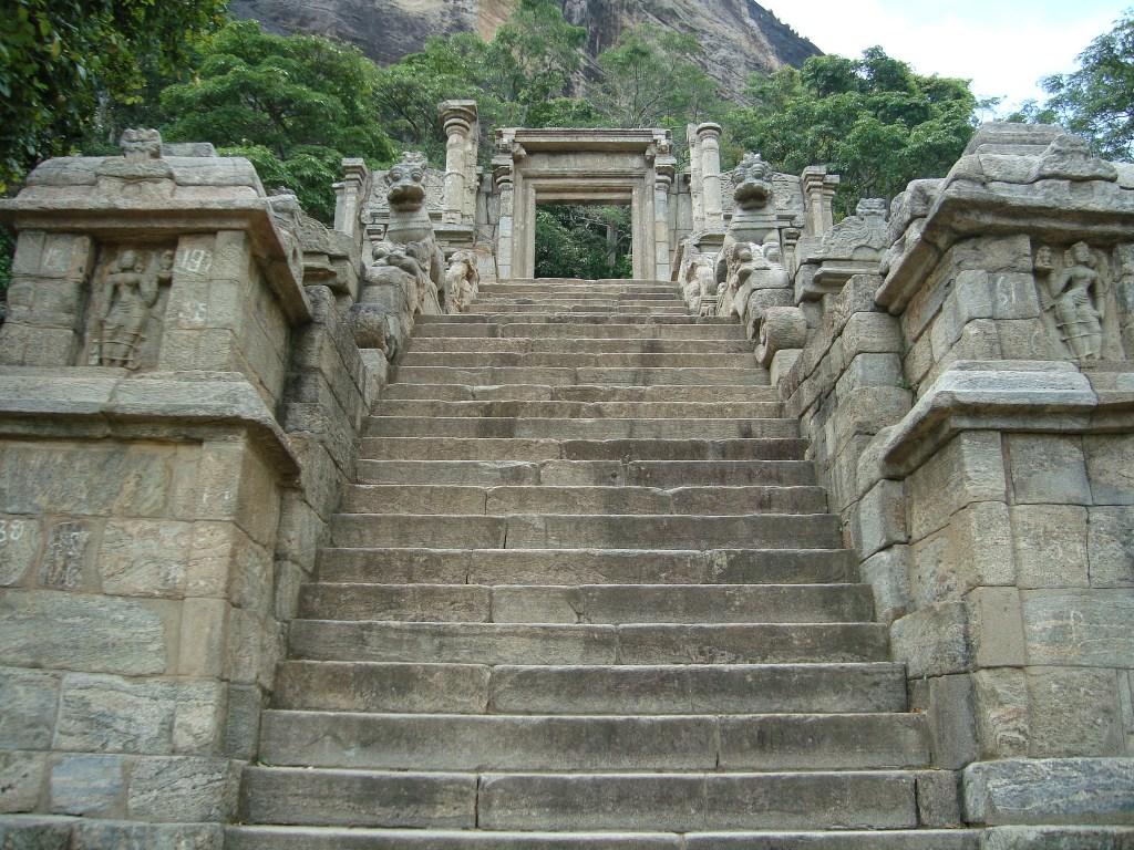 The Yapahuwa staircase