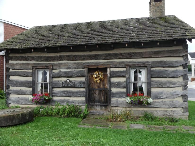 Exterior of Ziegler Cabin in Harmony, Pennslyvania. Photo: Kathleen Walls