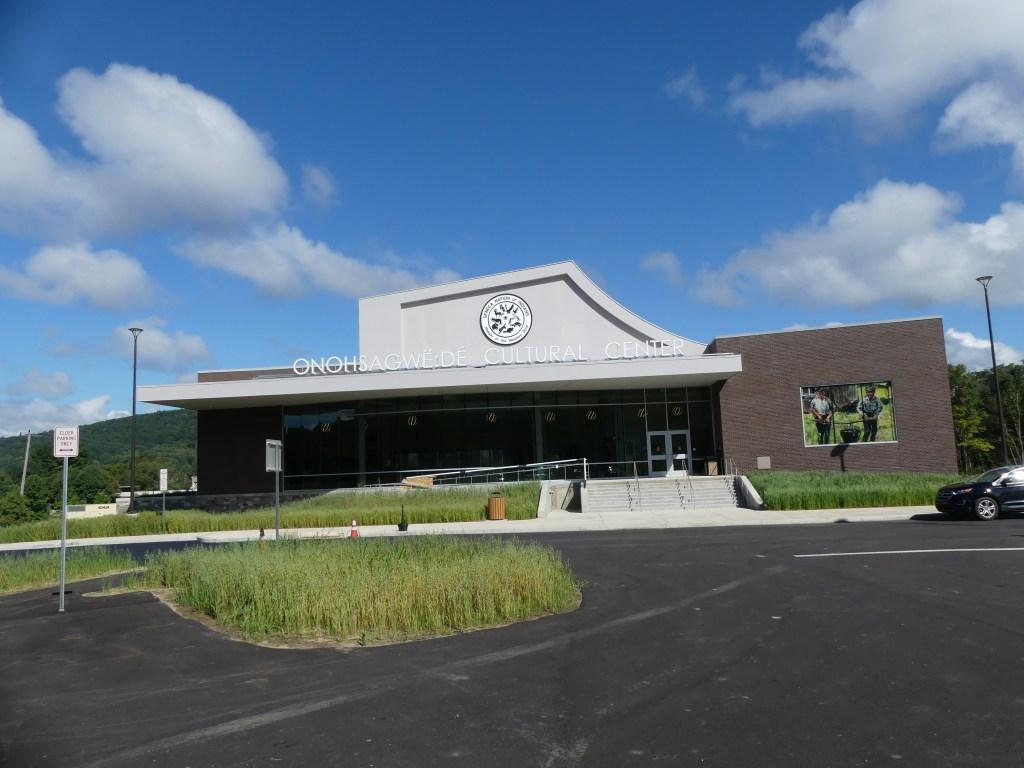 Onöndowa'ga Cultural Center of The Seneca Nation. Photo: Kathleen Walls