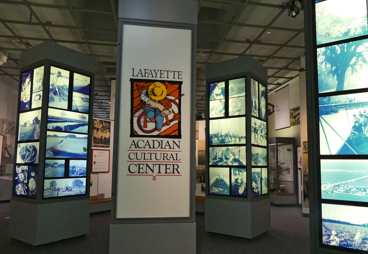 Inside the Lafayette Acadian Cultural Center. Photo: Kathleen Walls
