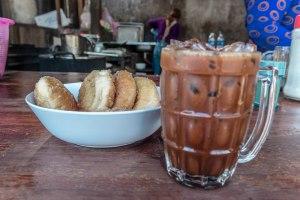 Iced coffee in Laos. Photo: Tara Tadlock