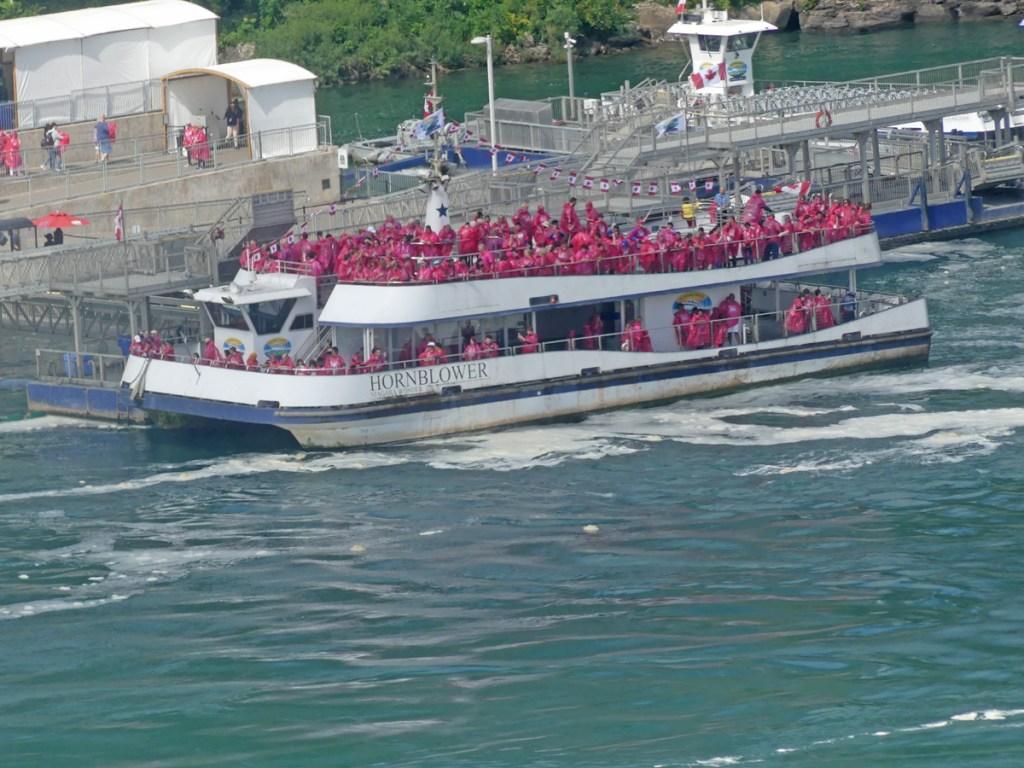 Hornblower boat. Photo: Kathleen Walls