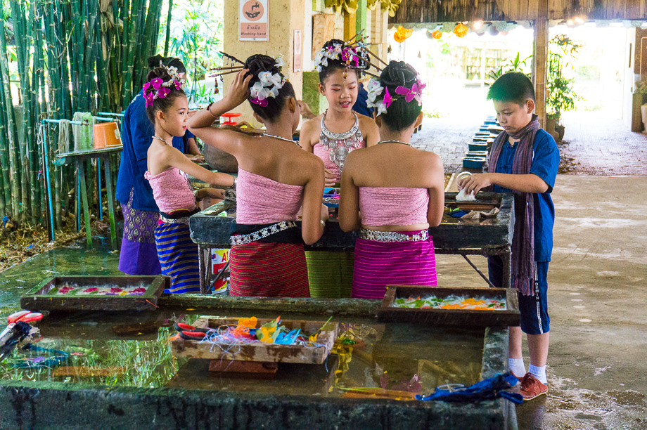 Artisan community in Chaing Rai province of Thailand. Photo: Katie Dundas