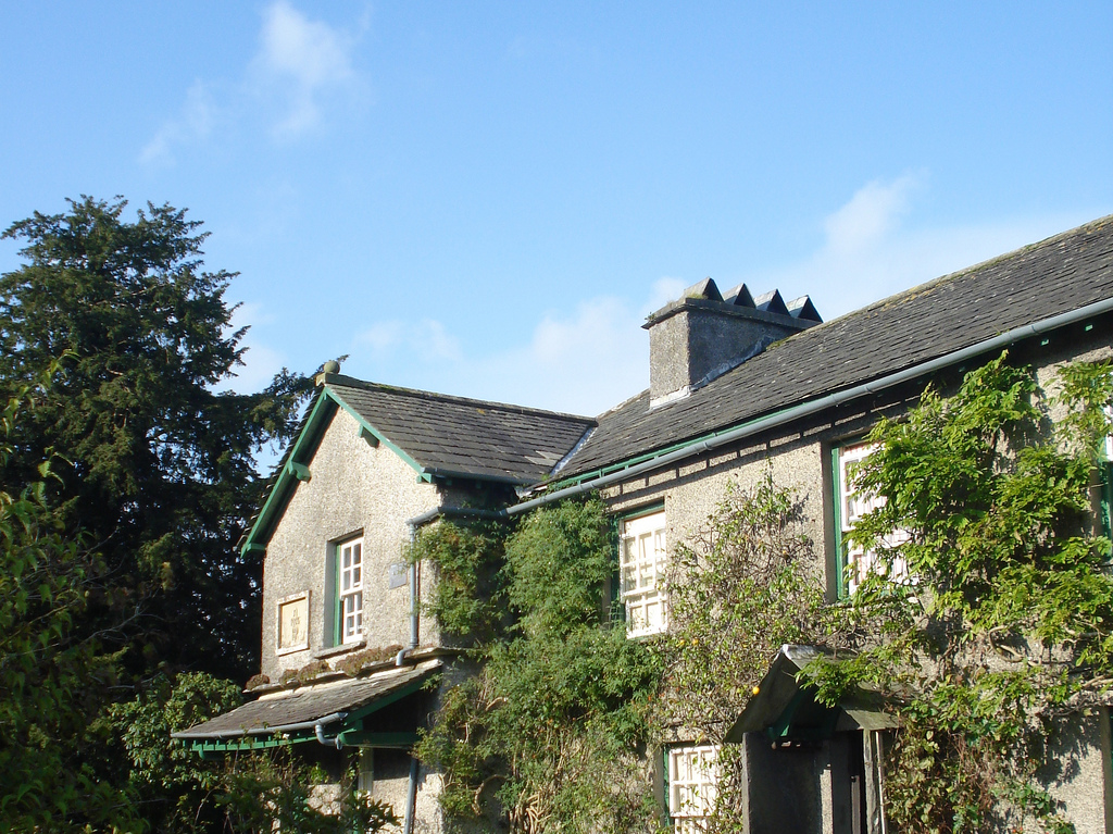 The cottage at Hill Top Farm as once owned and lived in by Beatrix Potter. Courtesy of Phil Bartle
