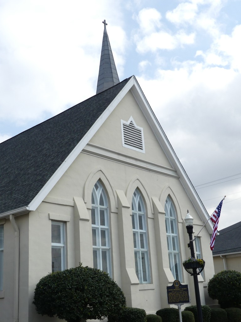 Historic Methodist Church. Photo: Kathleen Walls