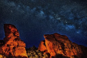 Grand Canyon dark sky