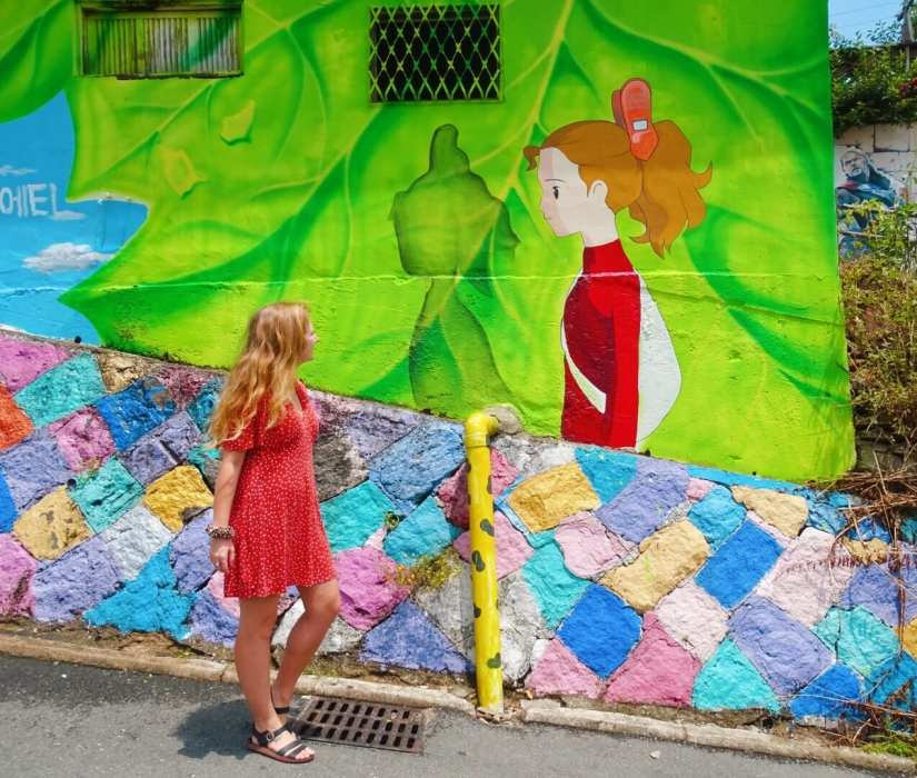 Mural in Jeonju. Photo: Rose Munday