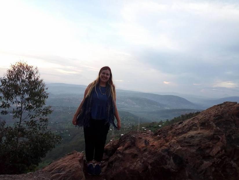 Photo of Lydia Klemensowicz In Rwanda