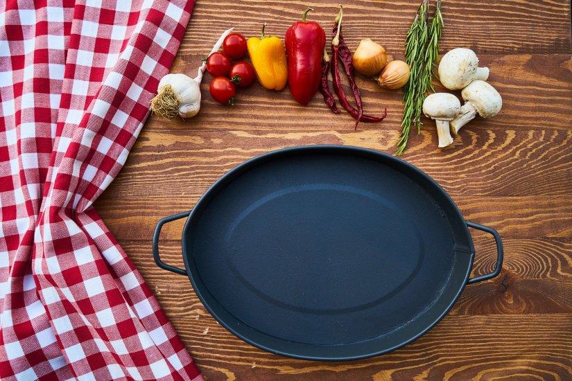Food and pan