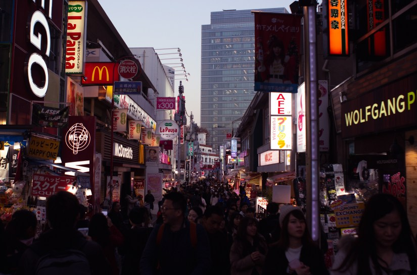 Shibuya Crossing. Photo: Trixie Pacis
