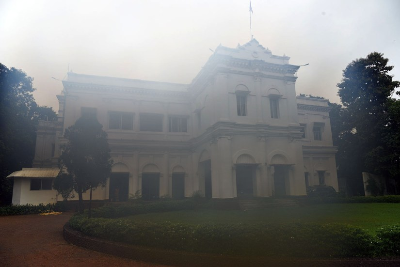 The facade of Mayurbhanj Palace. Photo by Sugato Mukherjee
