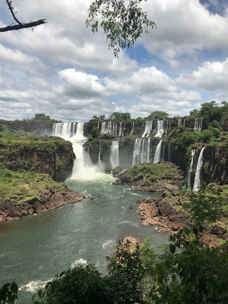 Argentina side of Iguazu Falls. Photo: Devon Older