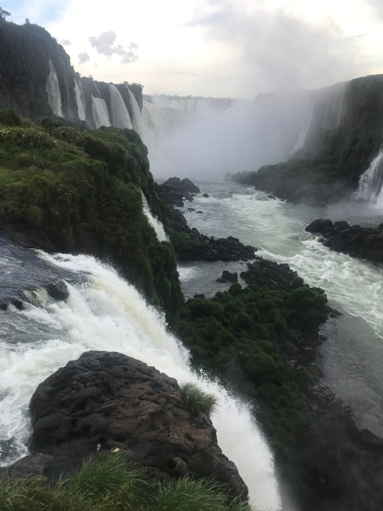 Brazilian side of Iguazu Falls. Photo: Devon Older