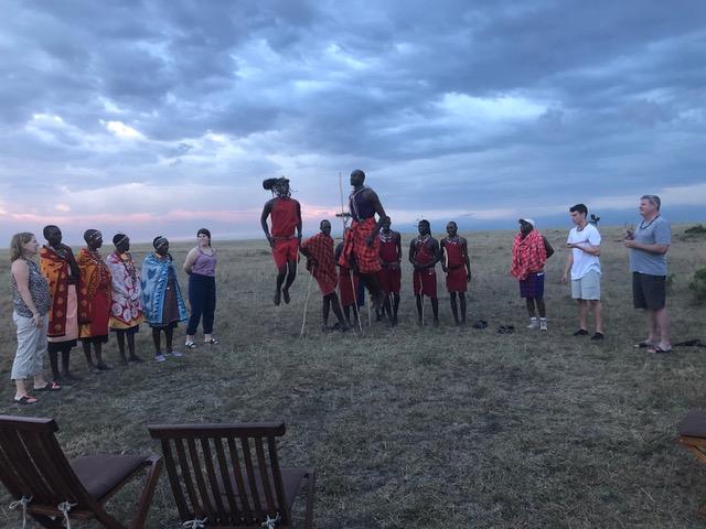 In the Masai Mara in Kenya in 2019.