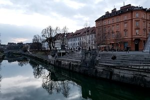 River in Ljubljana, Slovenia. Photo: Tonya Fitzpatrick