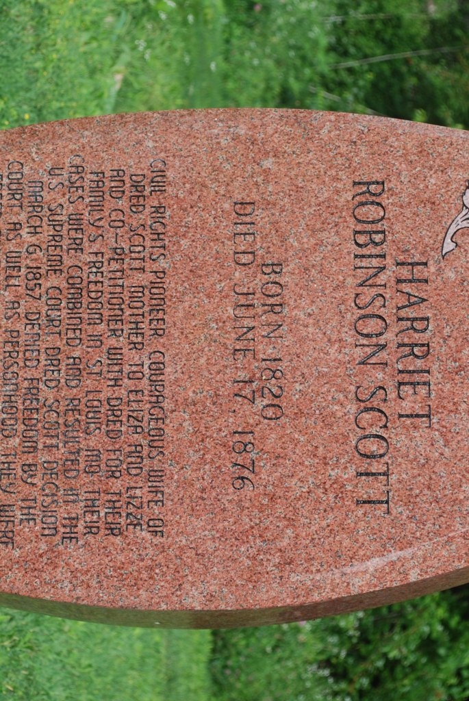 Harriett-Robinson-Scott-grave