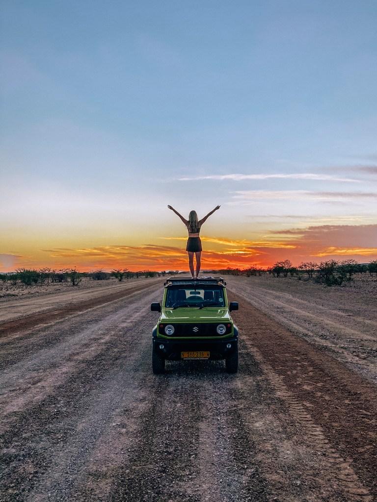 Namibia - Damaraland sunrise drive - Kellie Paxian