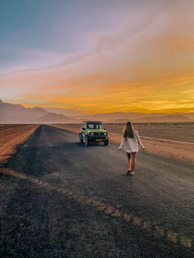 Namibia - road to Sossusvlei. Kellie Paxian