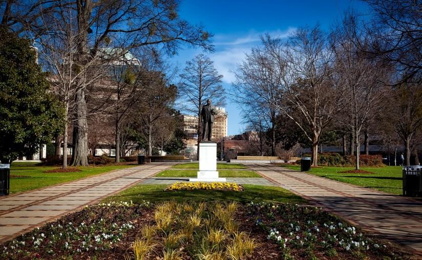 Kelly Ingram Park in Birmingham, Alabama