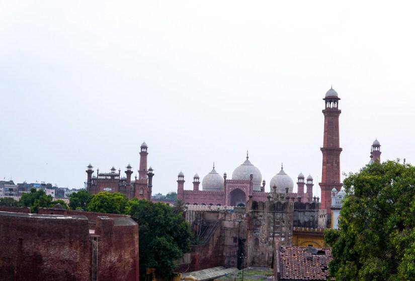 Badshahi Sosque from 1673 in Lahore. Photo: Samantha Shea