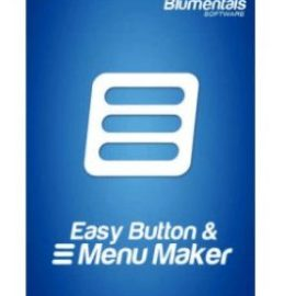 Easy Button Menu Maker Pro 5.0.0.34  free download