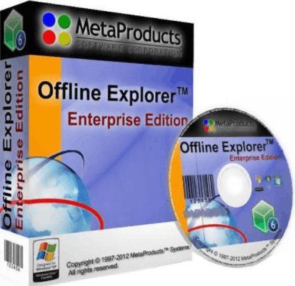 Offline Explorer Enterprise 7.6 crack download
