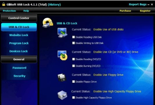 GiliSoft USB Lock 10