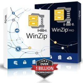 WinZip Pro 25.0 Build 14245 Free Download 2020
