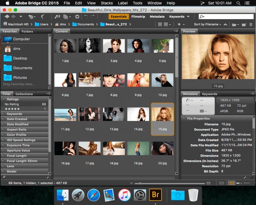 Adobe Bridge CC 2018 8.0.1.282 Free Download For Mac