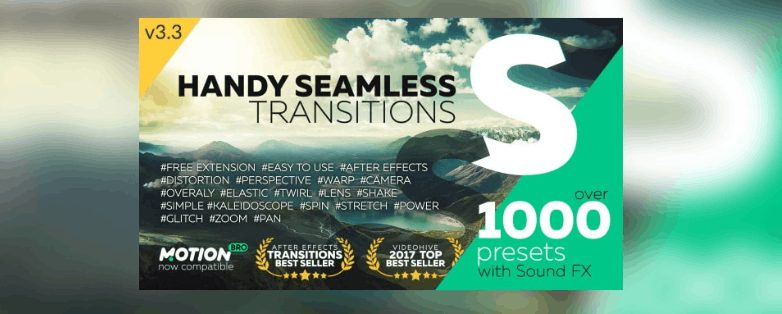 Videohive Handy Seamless Transitions v3.3 crack download