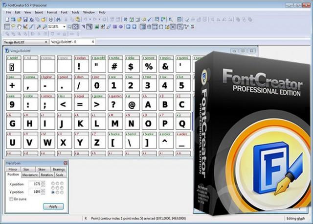 FontCreator Professional 13 Free Download