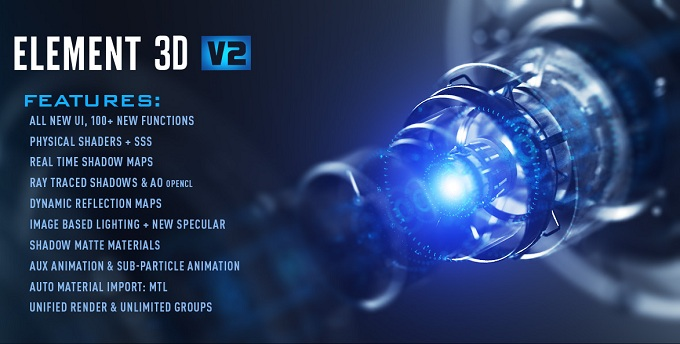 Element 3D v2.2.2.2160 Free Download