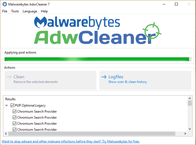 AdwCleaner 8 Free Download with crack
