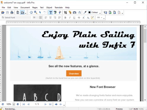 Infix PDF Editor Pro 7 free download