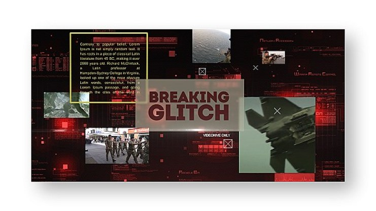 Videohive Breaking Glitch Presentation Slideshow 18125628 Free