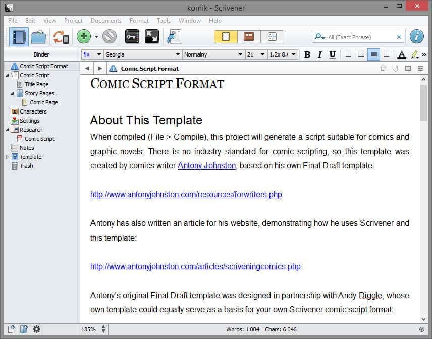Scrivener 1.9.8.0 Free Download with crack