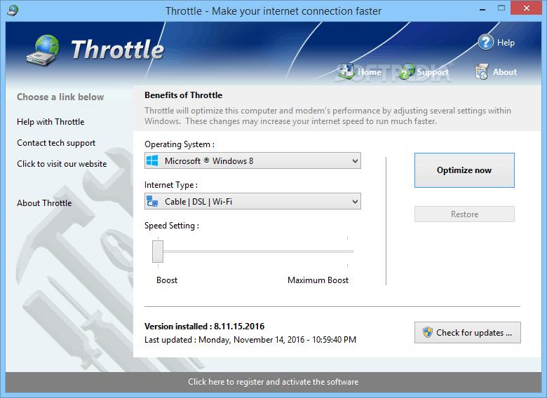 Throttle 8.6 Free Download