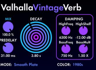 Valhalla DSP ValhallaVintageVerb crack download